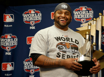 World Series MVP Pablo Sandoval