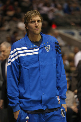 Dirk's knee may keep him on the sideline.