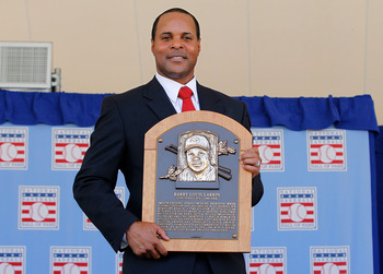 Barry Larkin was inducted into the Hall of Fame in 2012