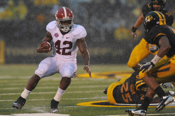 Alabama RB Eddie Lacy