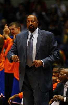 Mike Woodson had the interim tag removed. Now he has the bullseye on him to produce.