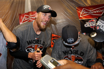 Hunter Pence's speeches were priceless?
