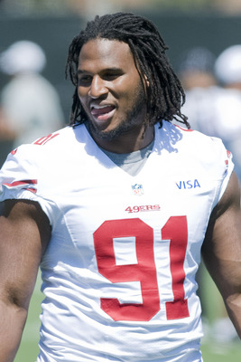 Ray McDonald played a very solid game on the defensive line