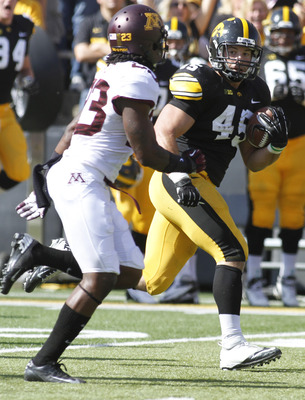 Weisman has been the focal point of Iowa's offensive attack