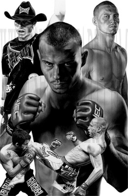 Donald Cerrone: courtesy of http://www.shomanart.com/