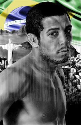 Jose Aldo: courtesy of http://www.shomanart.com/