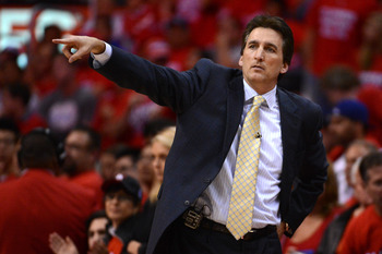 Vinny Del Negro won't be with the Clippers for much longer.