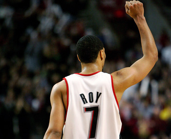 Seeing Brandon Roy in a new uniform will be a huge change this season.
