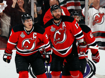 With Parise gone, Kovalchuk is the top Devils candidate to be captain.