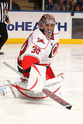 Cam Ward won the Stanley Cup with the Hurricanes in 2006