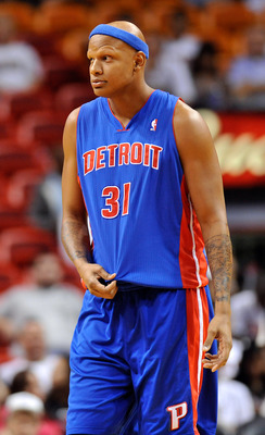 The good news is, you won't see this guy on the court very often this season for the Pistons.