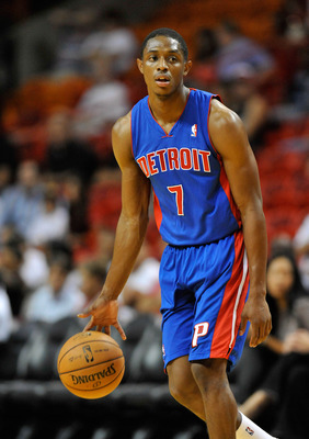 Brandon Knight will lead the Pistons into a season of promise.