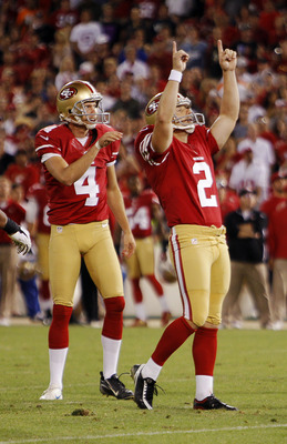 Back-to-back great showings for the Niners' kickers.