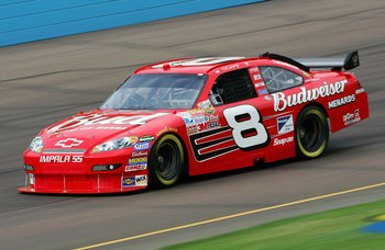 The famous No. 8 Dale Earnhardt Jr.