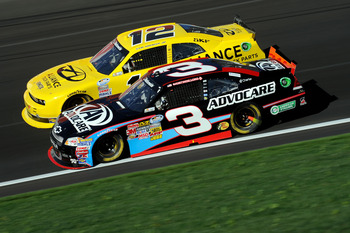 Austin Dillon is now driving the black No. 3 in the Nationwide Series.