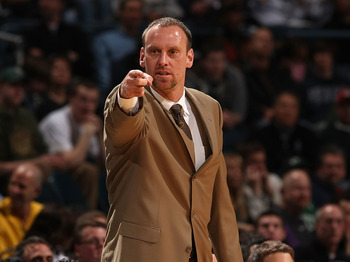University of Utah Head Coach Larry Krystkowiak