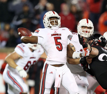 Louisville needed overtime to beat Cincinnati and improve to 8-0.