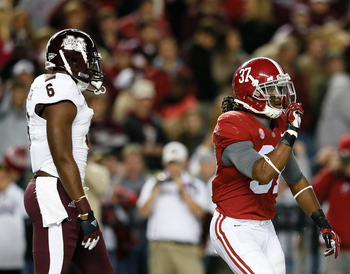 Alabama silenced critics with a 38-7 victory over then-undefeated Mississippi State
