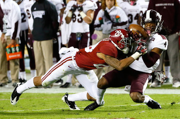 Alabama's No. 1 ranking in the BCS is largely attributable to their defense