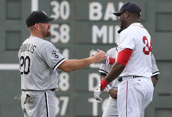 Kevin Youkilis was traded to make room for the future and Ortiz could be next