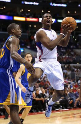 Paul finished third in last year's MVP voting in his first season with the Clippers.