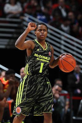 "Kevin ""Yogi"" Ferrell at the 2012 McDonald's All-American Game"