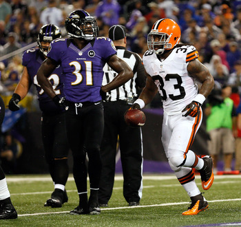 Richardson versus Baltimore in Week 4.
