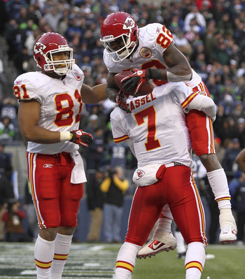 Cassel has had a dangerous target in Dwayne Bowe, but has struggled to use him