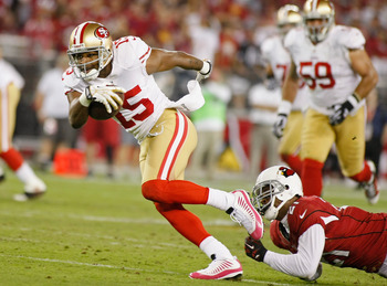 Michael Crabtree scored two touchdowns on Monday Night Football