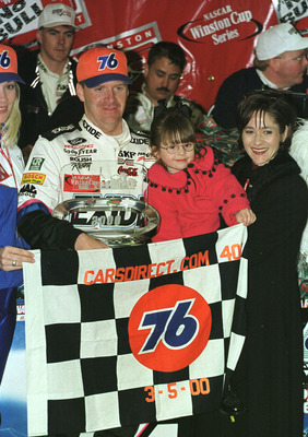 Jeff Burton in happier and more successful times (2000).