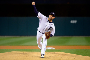 Anibal Sanchez throws in Game 3 of the 2012 World Series against the San Francisco Giants.