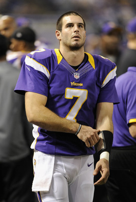 If anything, QB Christian Ponder is regressing this season.