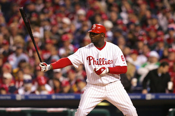 Philadelphia Phillies first baseman Ryan Howard won his arbitration case for a record $10 million in 2008.