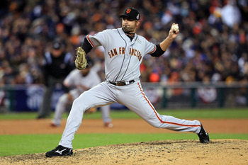 Jeremy Affeldt had a great season for the Giants