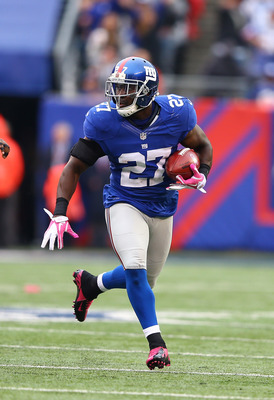Stevie Brown leads the Giants in interceptions in 2012