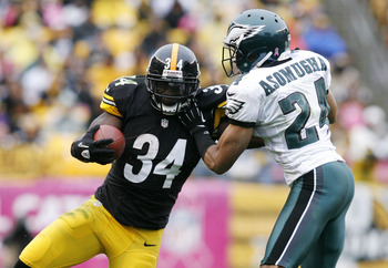Rashard Mendenhall has been battling knee problems in 2012