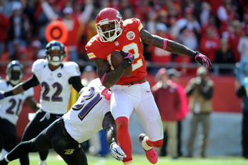 Dwayne Bowe will likely be playing elsewhere in 2013