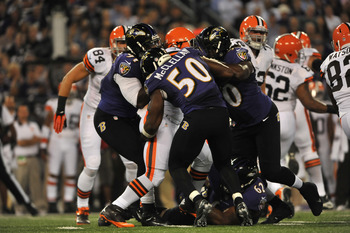 Cleveland vs Baltimore: Sept. 27, 2012