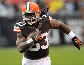 #33 RB Trent Richardson
