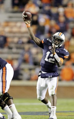 Auburn QB Jonathan Wallace