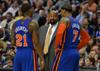 Mike Woodson emphasizes that each player must be held accountable.