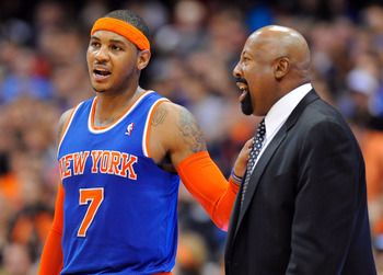 Carmelo Anthony and others have played their best under Mike Woodson.