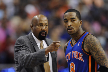 Mike Woodson has been known to keep his temperamental players under control.