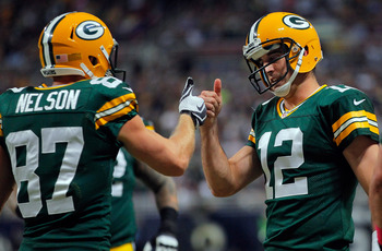Green Bay's offense struggled last week without Jordy Nelson.
