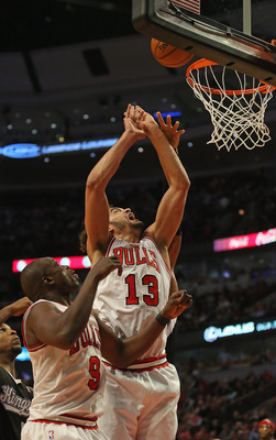 The Bulls, outside of Joakim Noah, are ark-ing downwards without Rose.