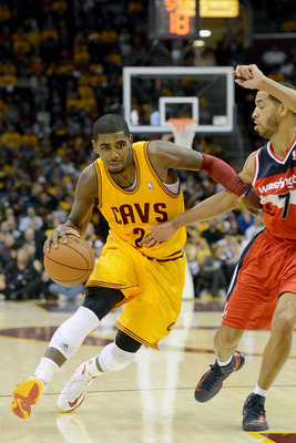 Kyrie Irving is a heckuva player.  Too bad that, like LeBron, he has little around him.