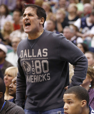 While you were busy on Shark Tank, Mark Cuban, your roster went into the tank.