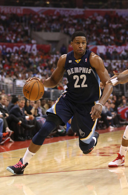Most fans won't recognize Rudy Gay, because Memphis gets limited exposure, but this could be the year the Grizzlies advance in the playoffs.