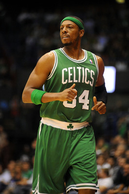 Boston Celtics Captain Paul Pierce