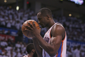 Serge Ibaka's growth moving forward will be critical for the Thunder.